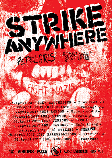 StrikeAnywhere Tourflyer2017