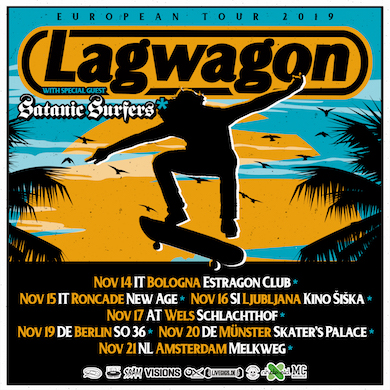 Lagwagon Instagram SatanicSurfers NEWS NEW