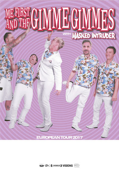 me first gimme gimmes tour feb 2017
