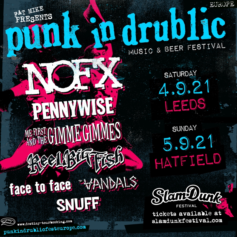 Punk in Drublic UK SDF Sept21 NEU